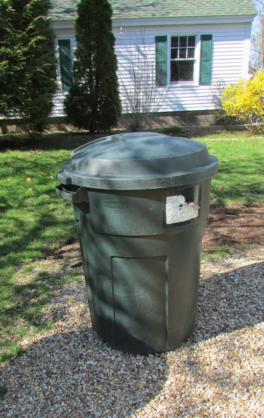 Trash barrel compost bin