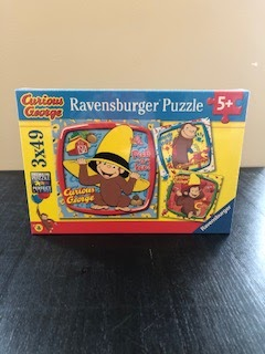 3 - 49 piece puzzles in one box!  ages 5 and up