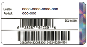 Find Missing License/Product Number For QuickBooks
