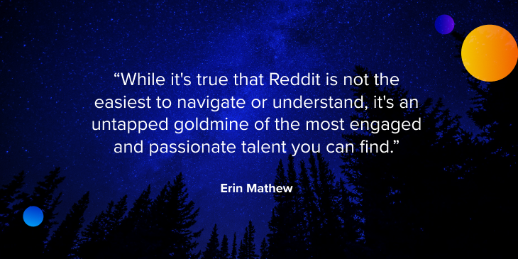 reddit recruiting quote