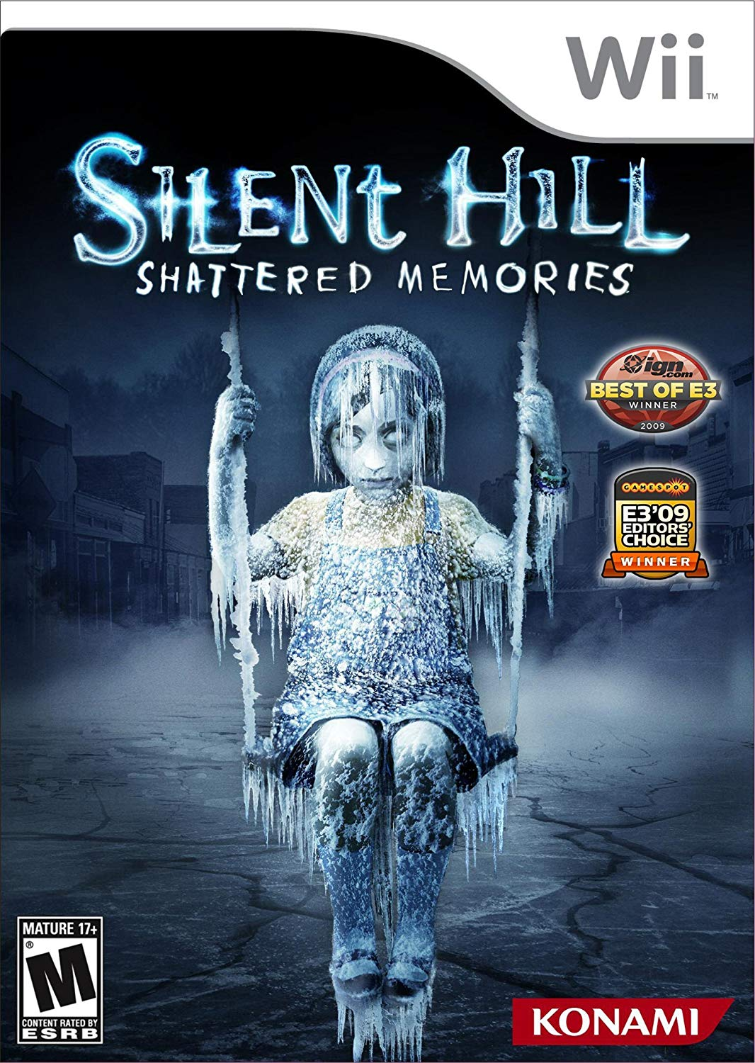 Image result for silent hill shattered memories box