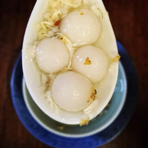 丸子, 圓子, 湯圓, 蛋花, 酒釀,  Tong Yuan, rice Dumplings, Osmanthus flower, Sweet Soup, dessert soup, chinese, recipe, chinese new year