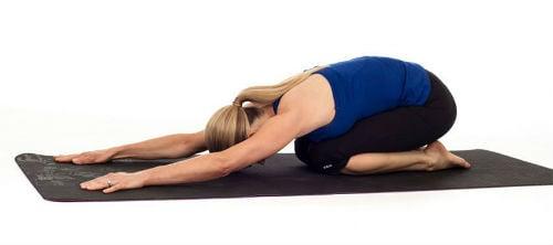 Alongamento da porção inferior das costas