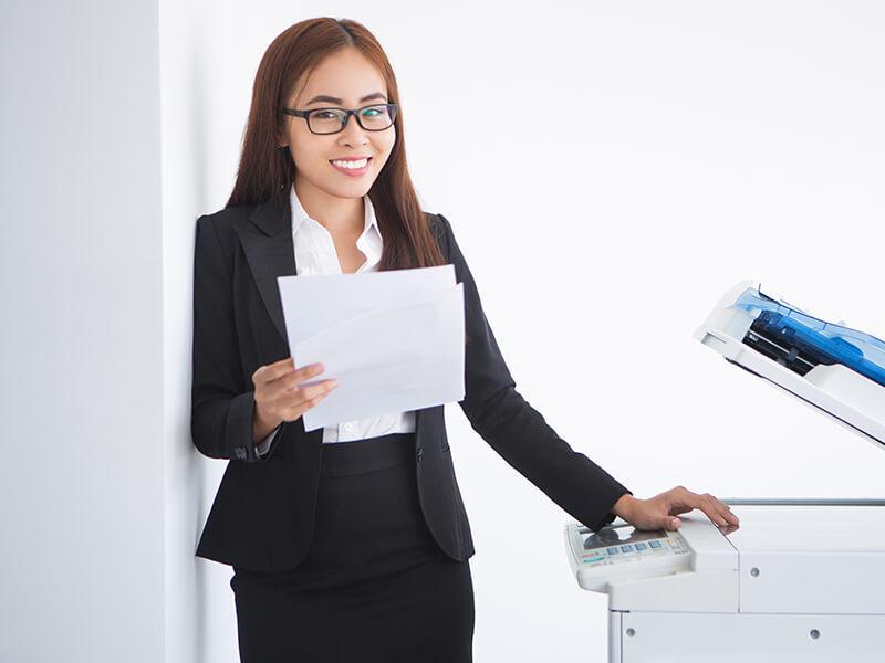 Thuê máy photocopy tại huyện Bình Chánh