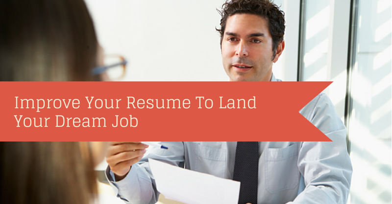 role of resume is in today's job market