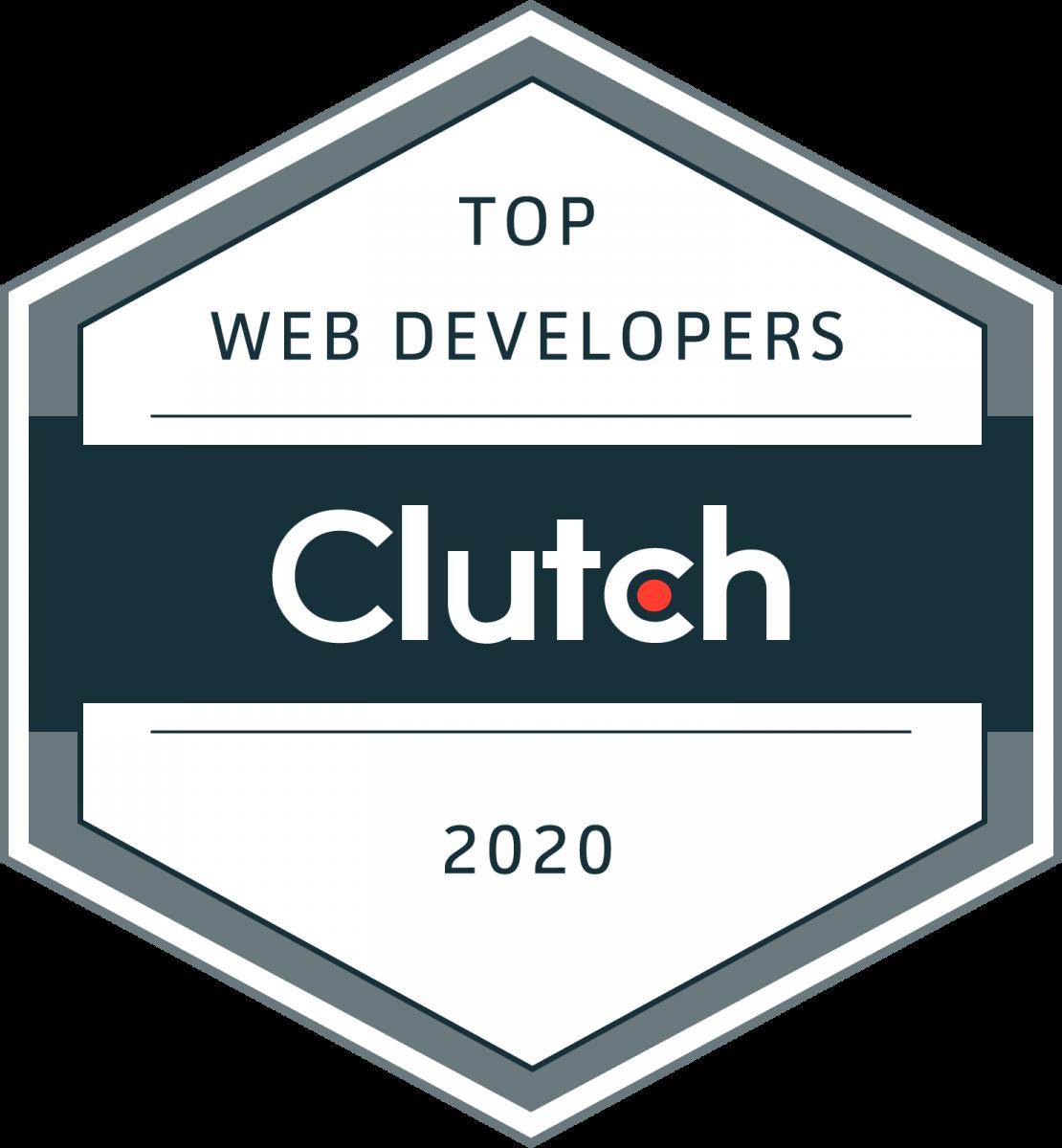 Top Web Developers - Clutch 2020