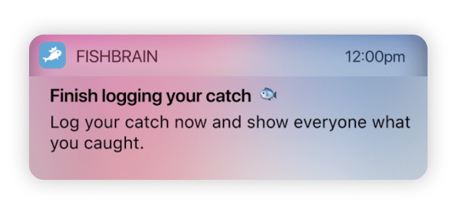 Push notifications boost customer loyalty and retention for Fishbrain