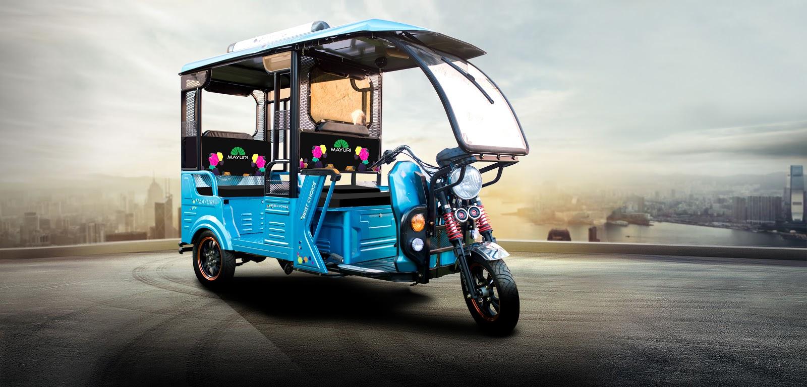 Advantages of Mayuri E-Rickshaw