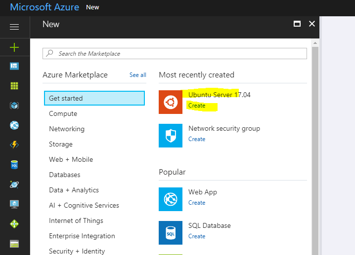 Journey to being a IT Polymath: Standing up an Ubuntu Linux VM in Azure