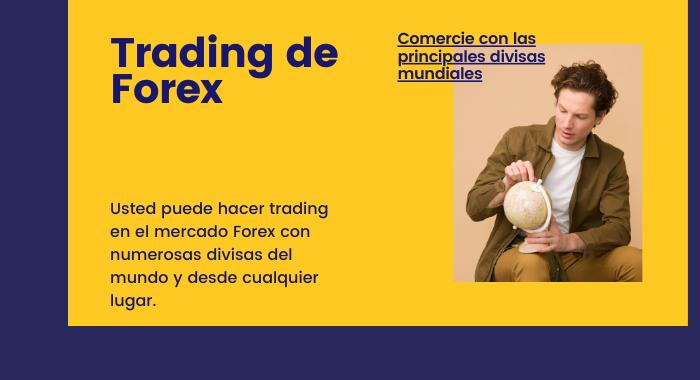 en forex se negocia con las principales divisas del mundo