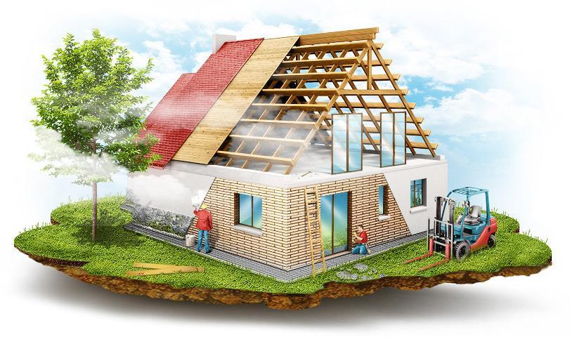 Особенности строительства коттеджей - Портал о строительстве