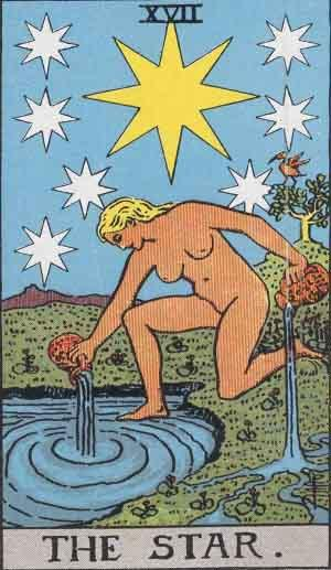https://upload.wikimedia.org/wikipedia/en/d/db/RWS_Tarot_17_Star.jpg