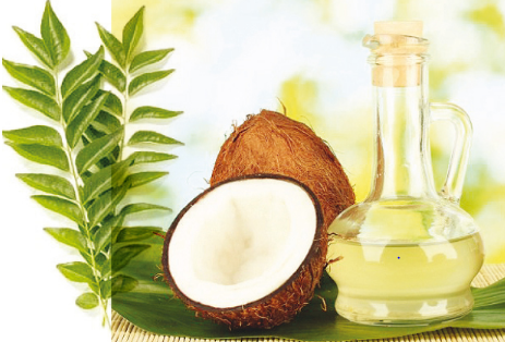 coconut oil as a hair mask
