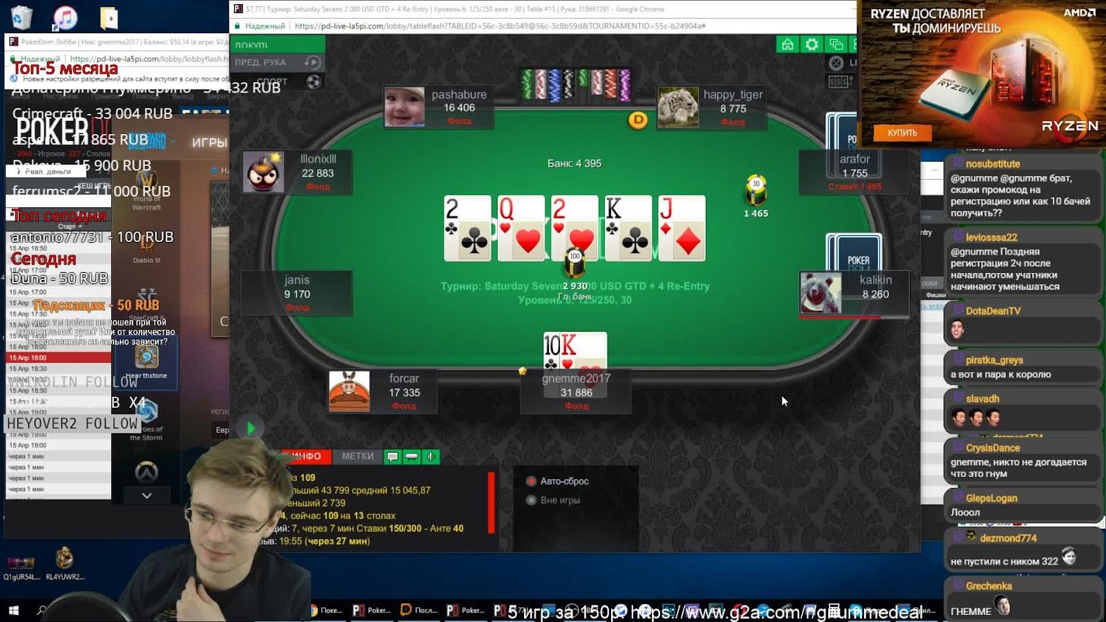 Пароли на фрироллы Pokerdom — доступные пароли в 2020