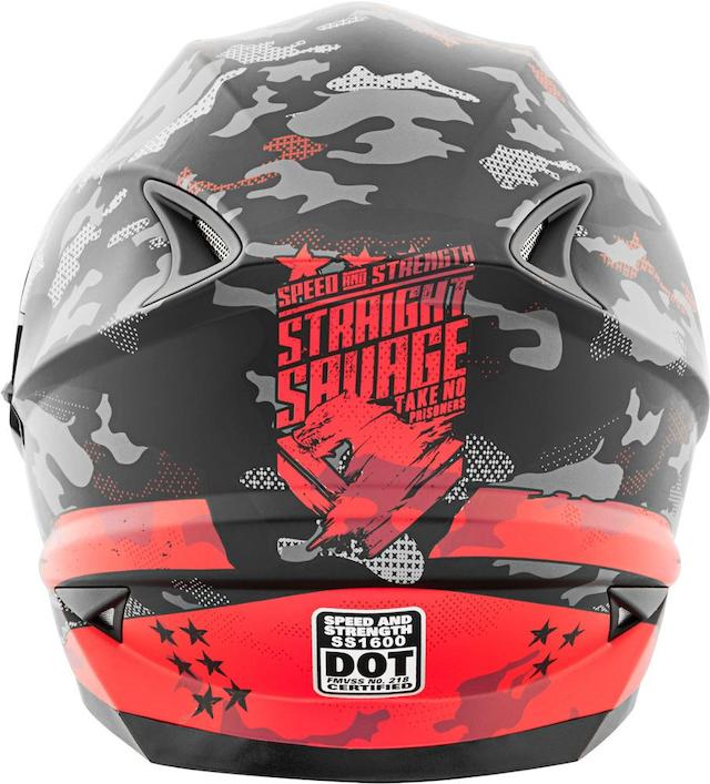 Nón fullface speed and strength SS1600 được nhiều biker tin dùng