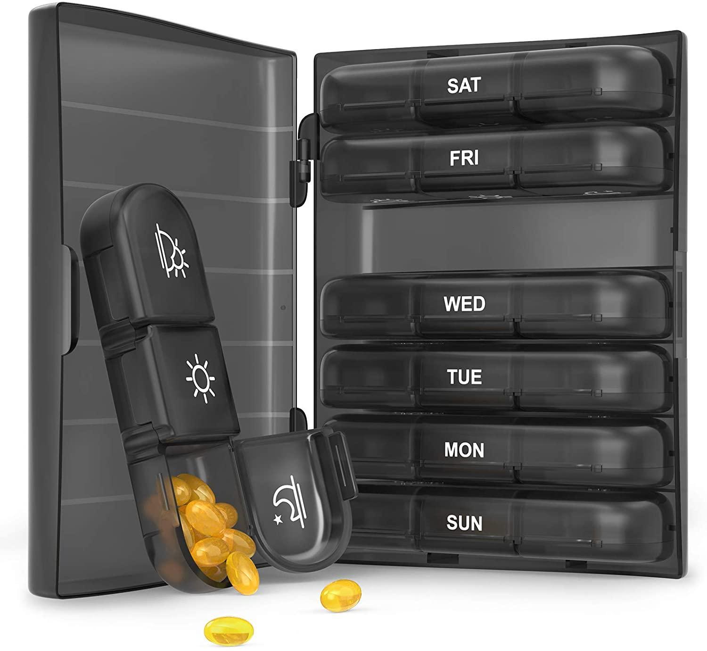 8 Best Pill Organizers of 2021 - Pill Dispensers [Reviews] 6