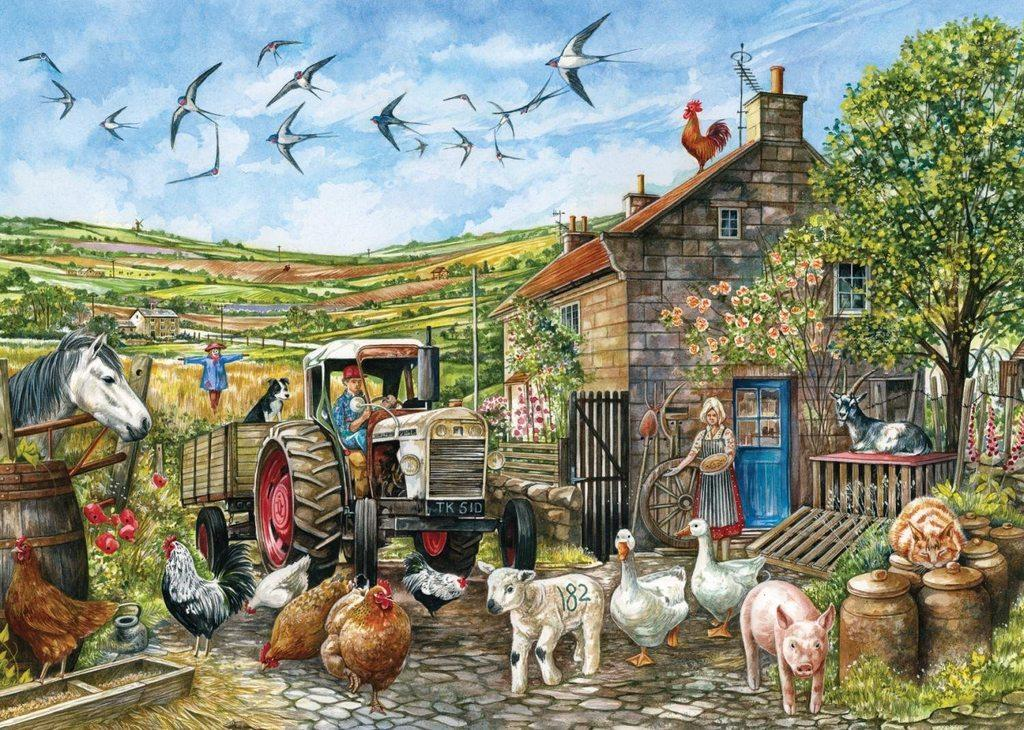 RURAL FARM. - Play Jigsaw Puzzle for free at Puzzle Factory