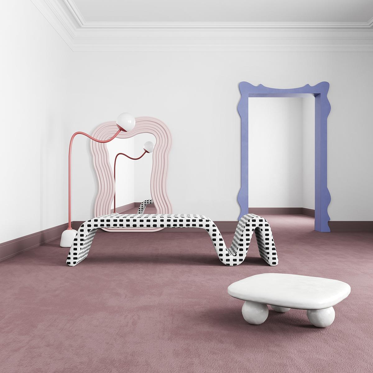 Postmodern Memphis interior trend