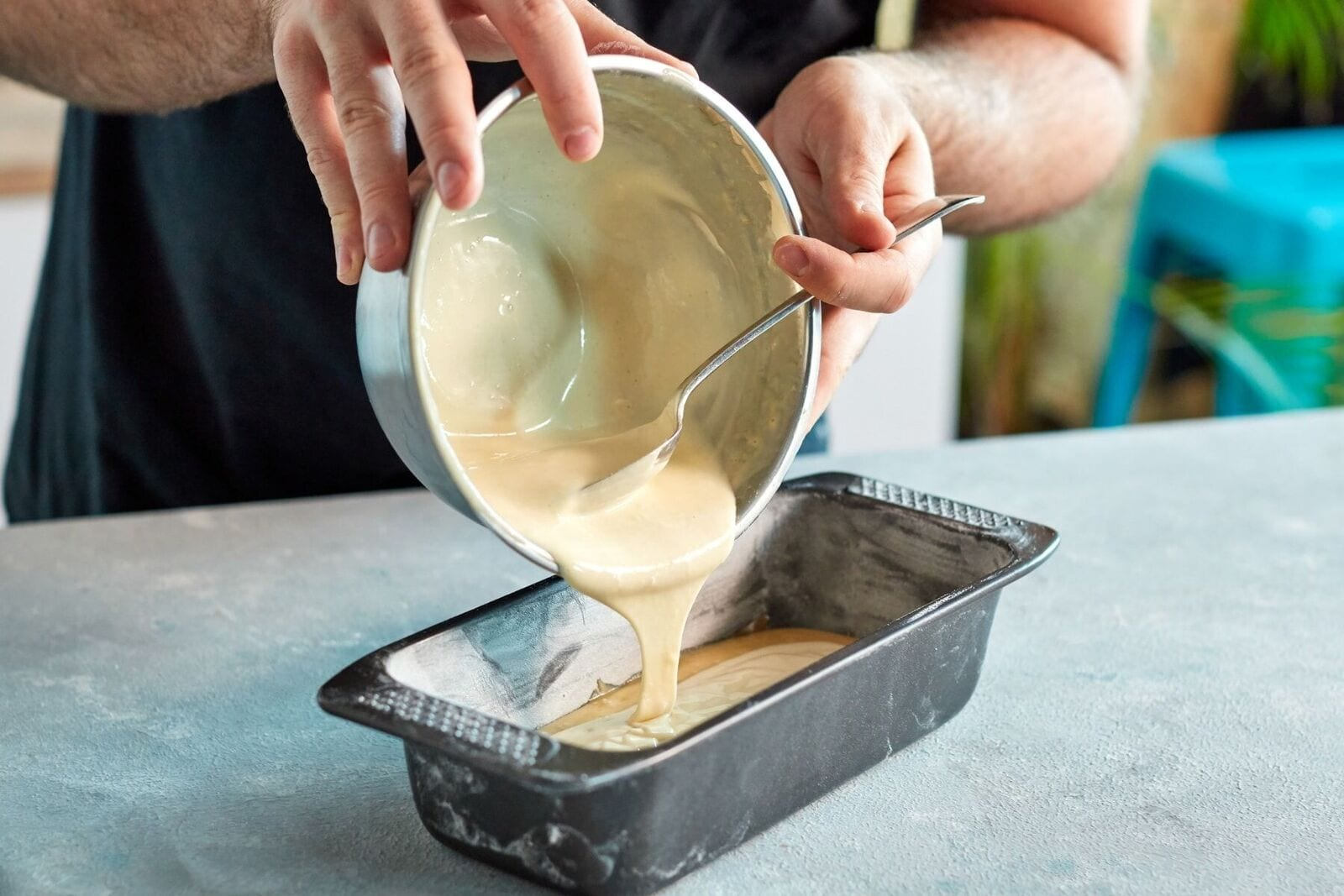 Cheesecake-Stuffed Protein Banana Bread