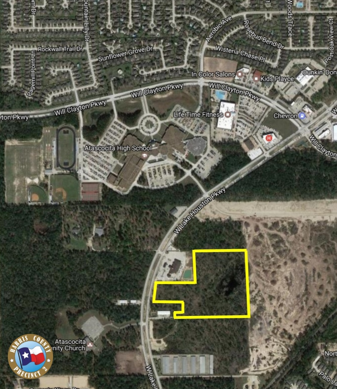 19-acre tract including a 2-acre pond