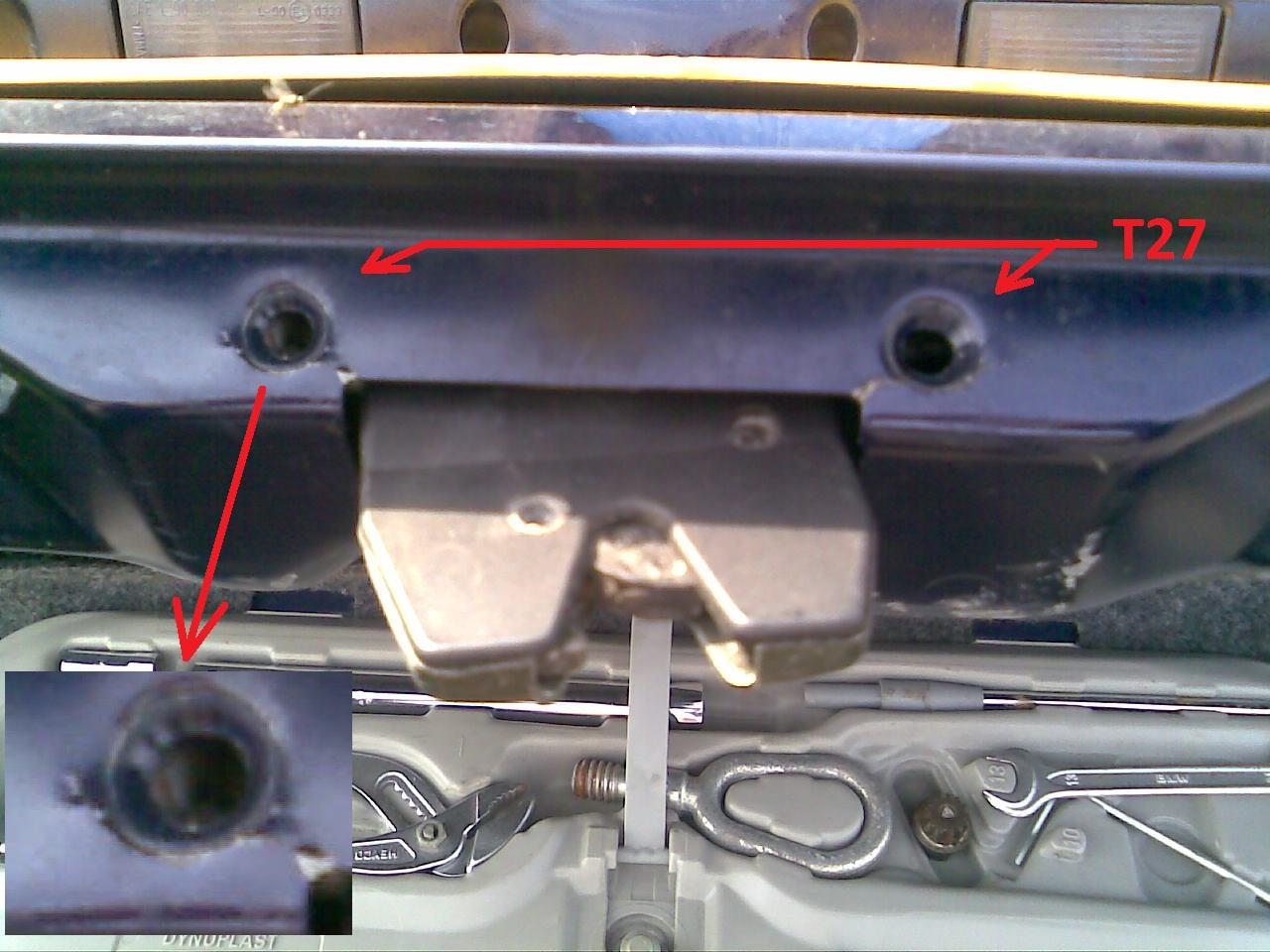 bmw e46 trunk latch