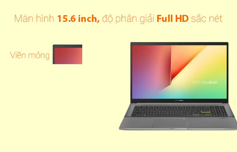 Laptop Asus Vivobook S533EA-BN293T   Màn hình 15.6 inch Full HD