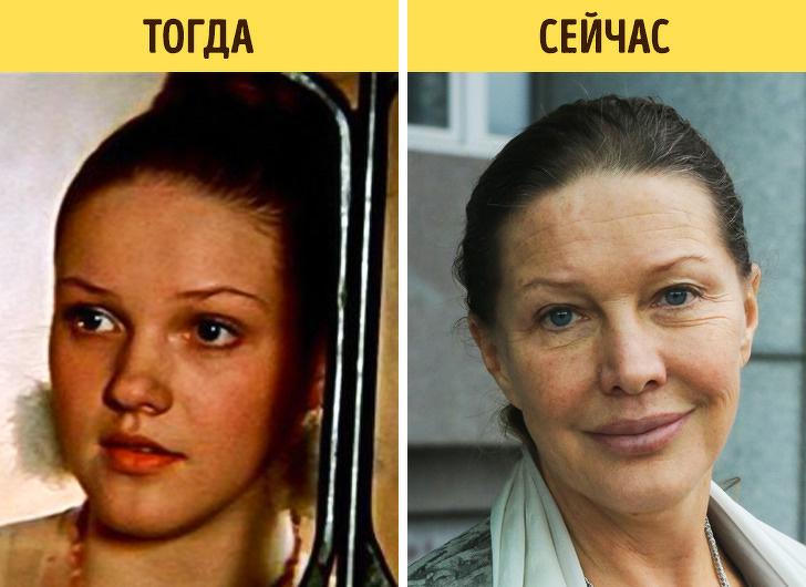 Как изменились актеры наших любимых сказок, которые мы смотрели в детстве - Елена Проклова