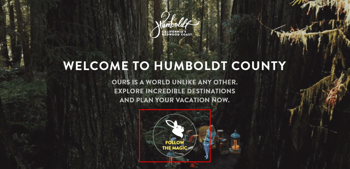 exemplos de call to action do site humblodt country
