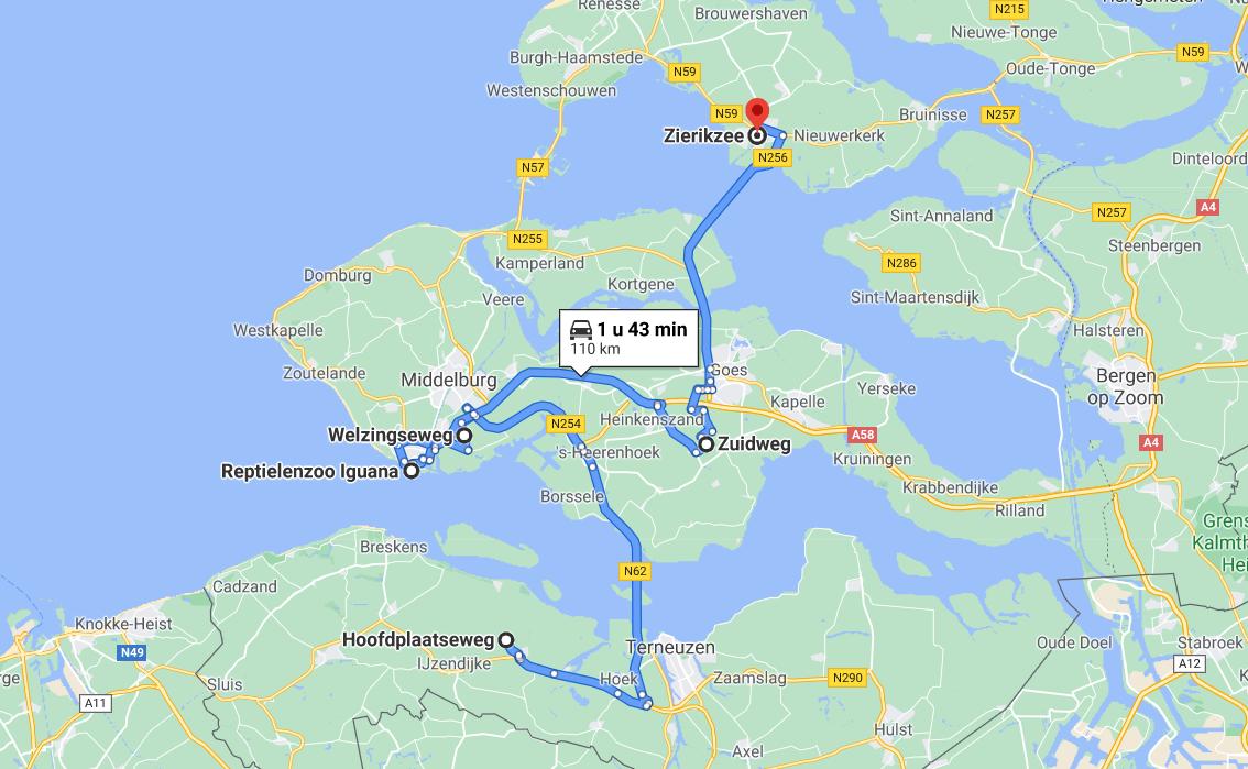 Roadtrip door Zeeland
