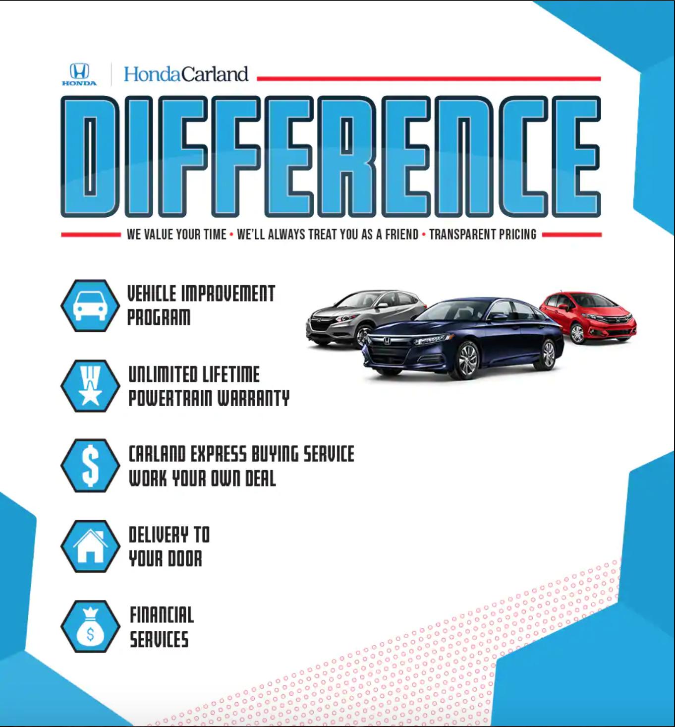 Honda Carland Service >> The Honda Carland Difference In Roswell Ga Honda Carland