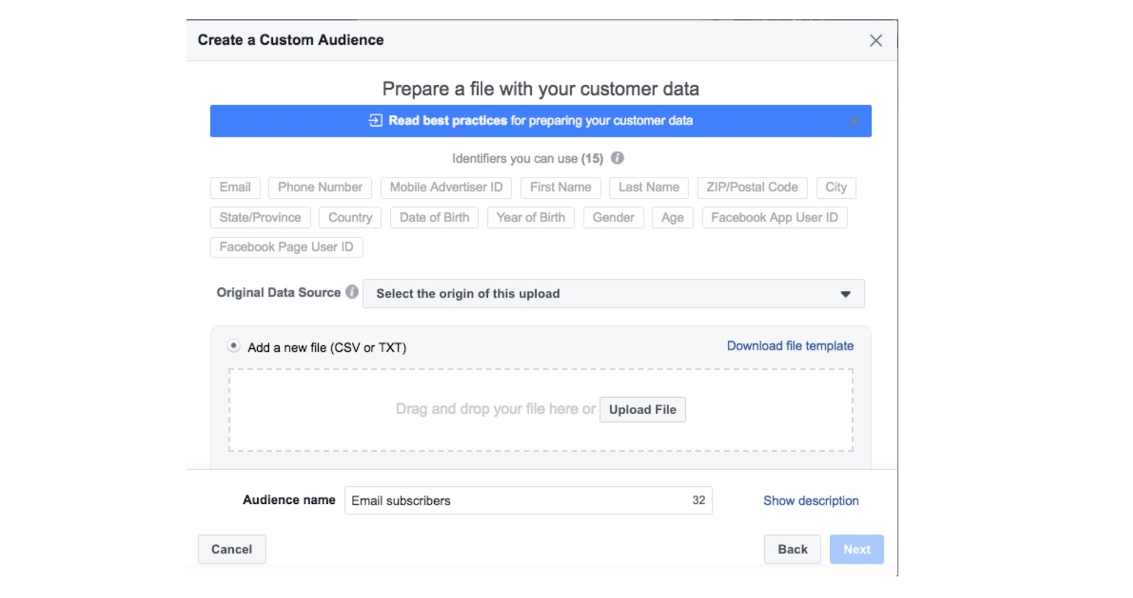 ad targeting and ad type