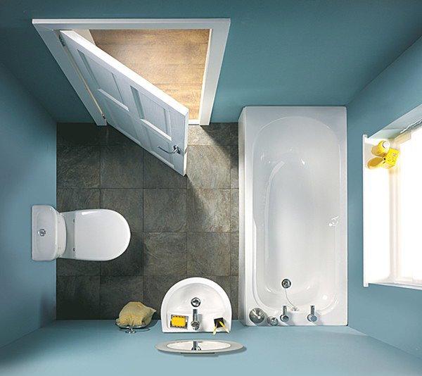 รวมไอเดีย 15 แบบห้องน้ำขนาดเล็ก-กลาง สำหรับทุกบ้าน