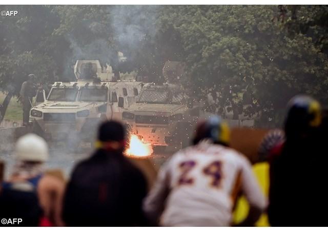 'Những vi phạm nhân quyền chống lại người biểu tình Venezuela': báo cáo của LHQ