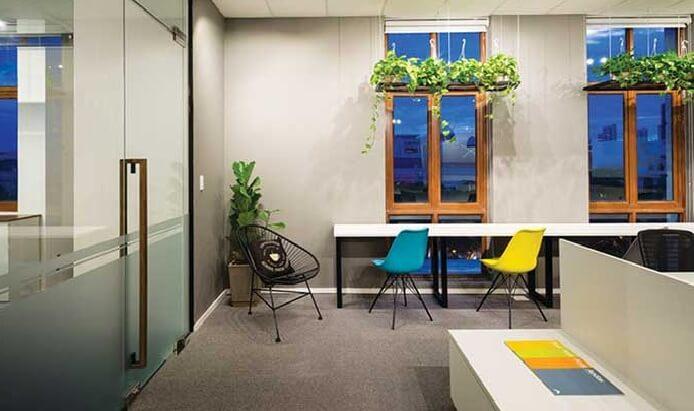 thiết kế văn phòng làm việc theo phong cách nhớ nhà