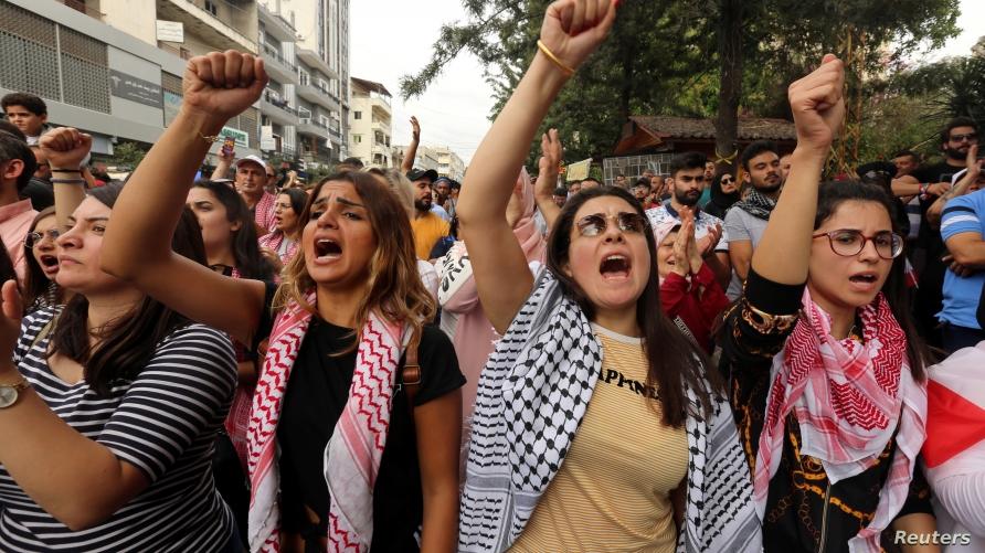 ¡Las protestas libanesas se extienden por más de 10 días!