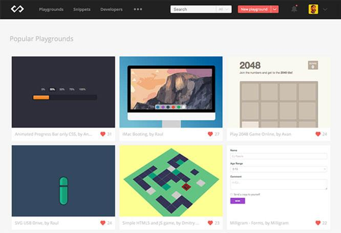 tools situs desainer grafis codepad