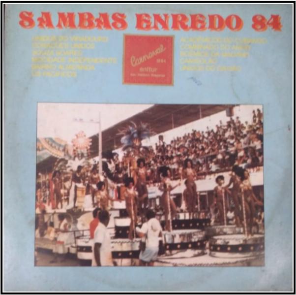 LP de 1984 - Acervo de João Perigo