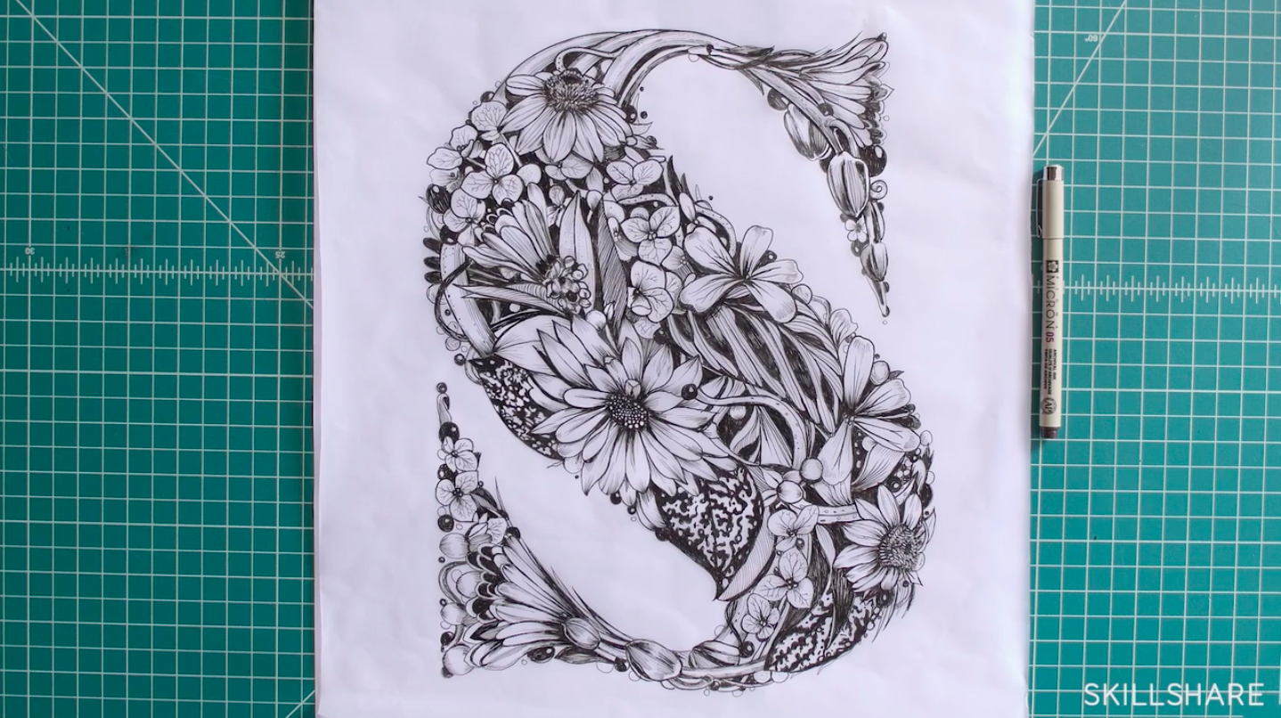 s made of flowers
