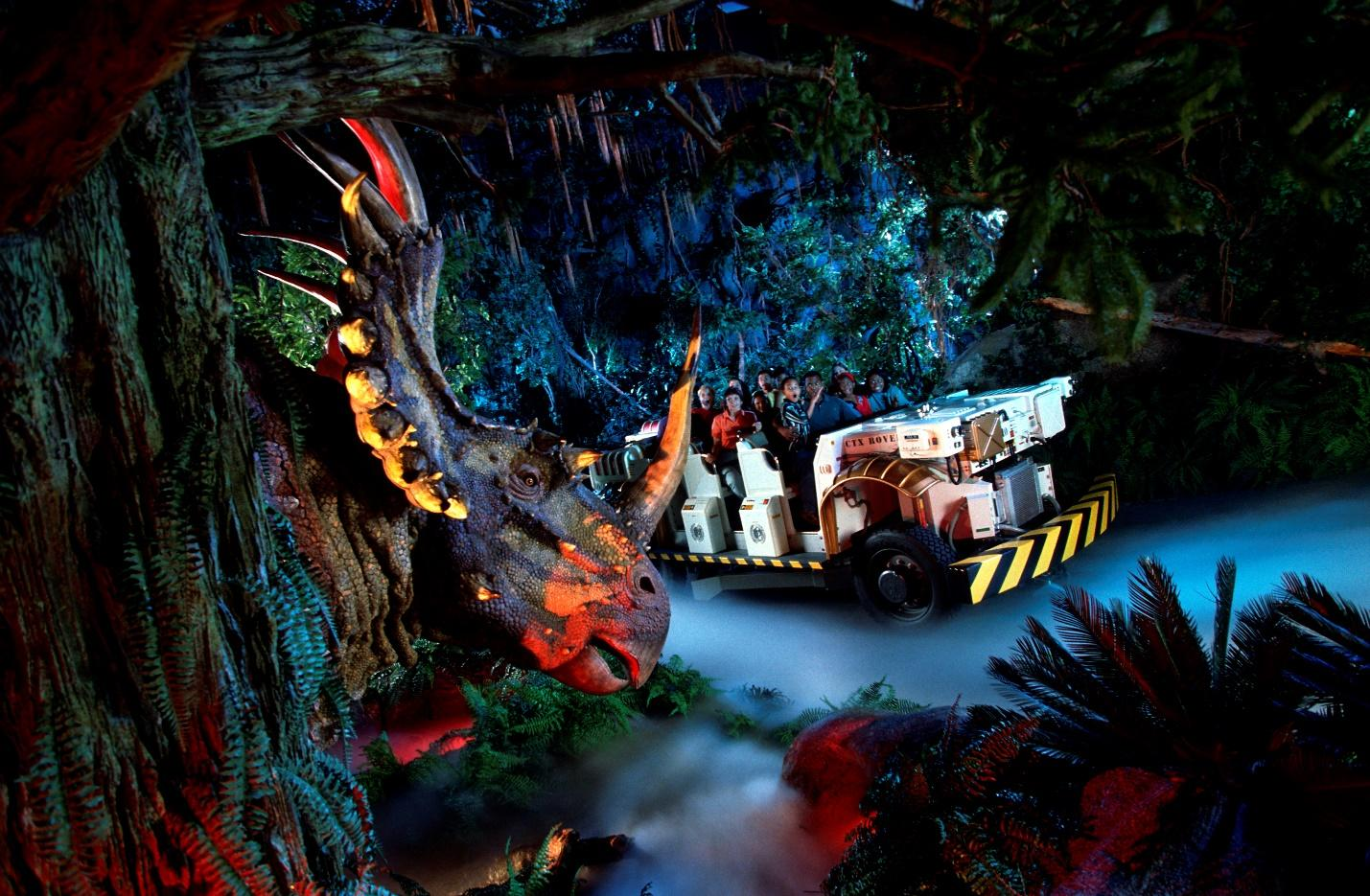 DINOSAUR attraction ride at Disney