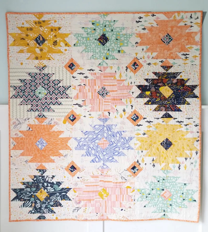 14. Wild Blooms Pattern