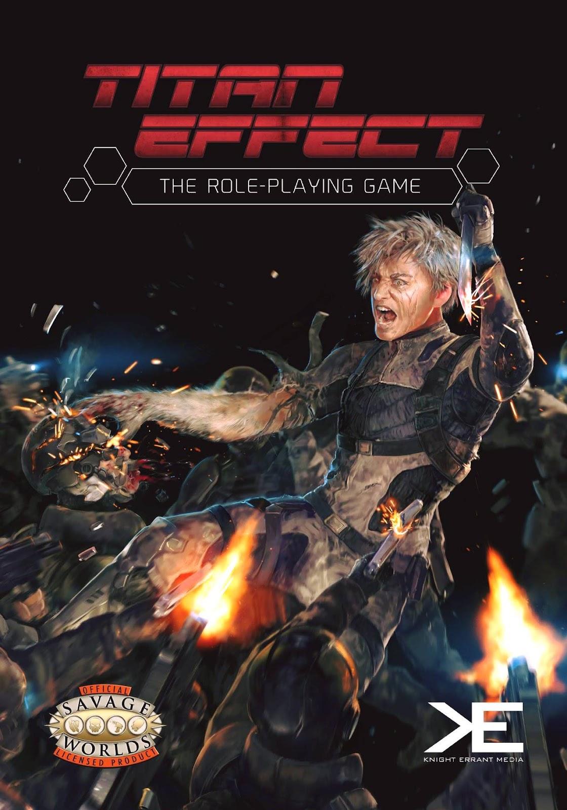 Titan Effect Original Cover