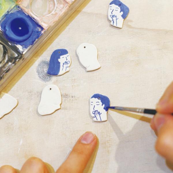 品品學堂-11月活動-手作陶瓷耳環