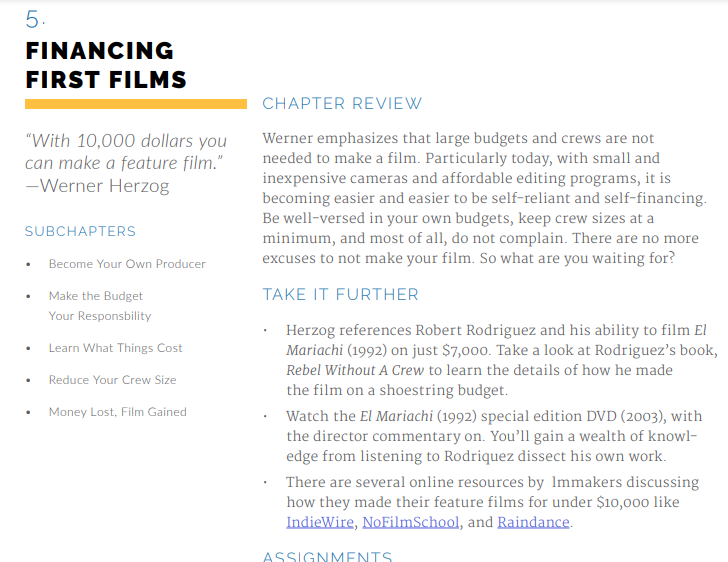 Werner Herzog Masterclass Review: Financing First Films