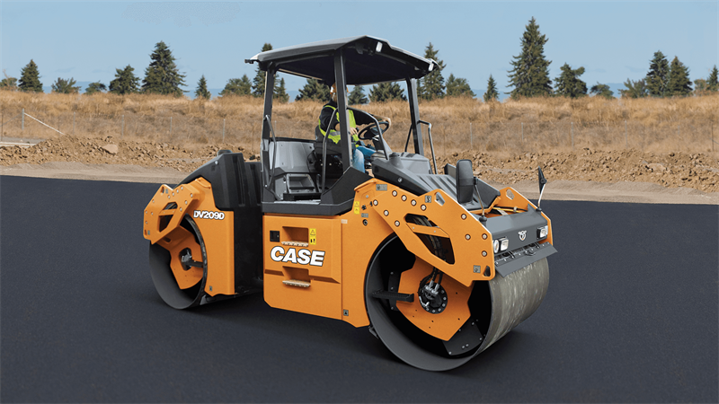 CASE DV209D Double Drum Roller   CASE Construction Equipment