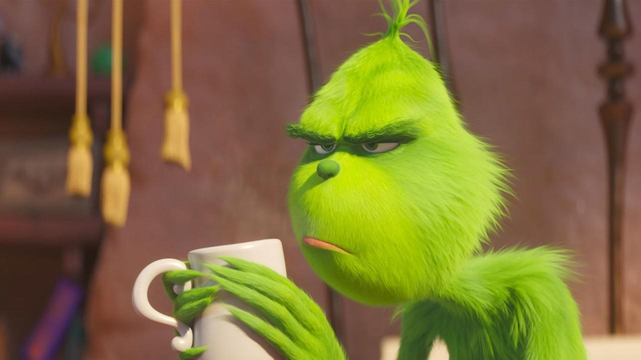 The grumpy and angry Grinch