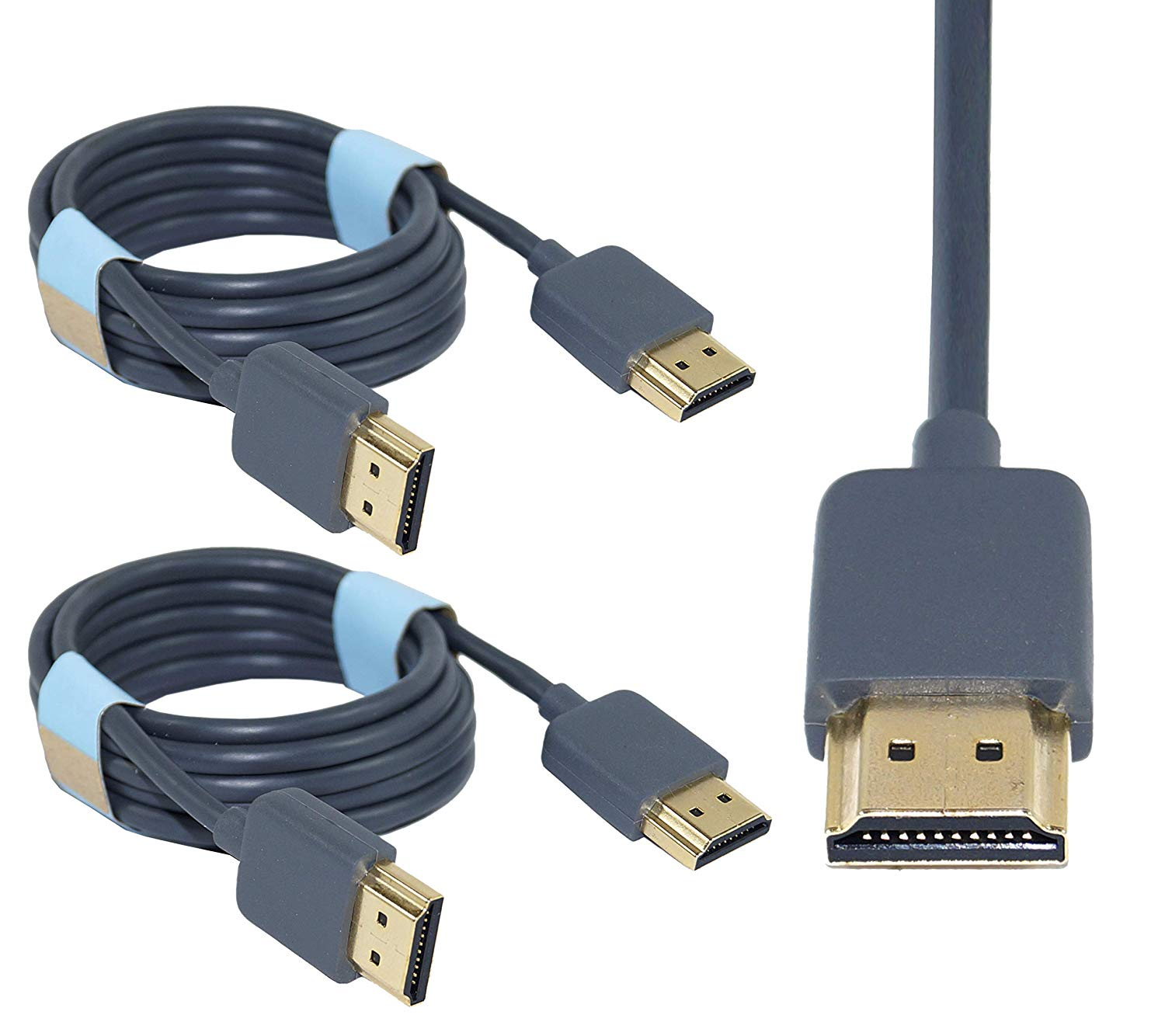 Storite1.5M High-Speed HDMI Male to Male  2 Pack Cable