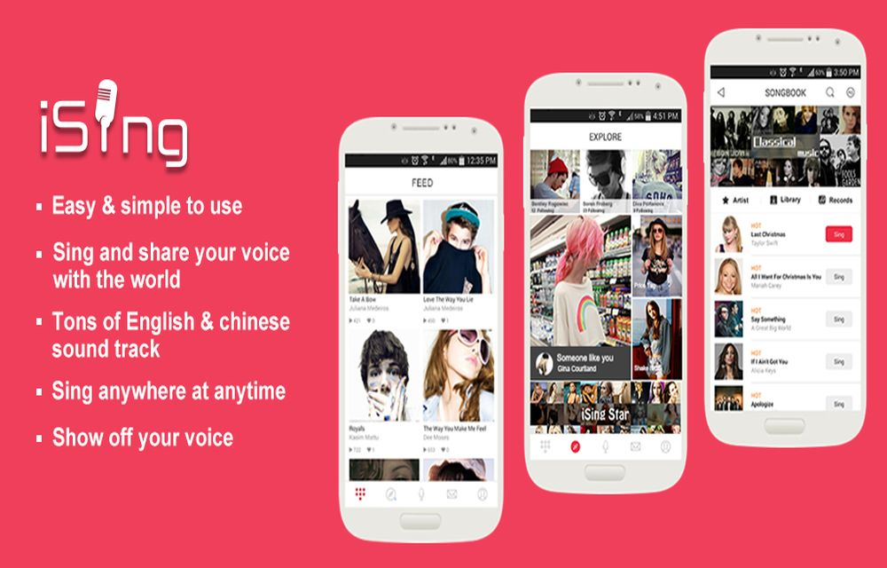 Karaoke Apps for Android and iOS - Learn to Sing with Talent