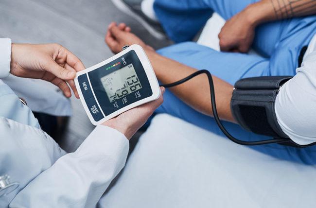 High blood pressure during pregnancy measurement