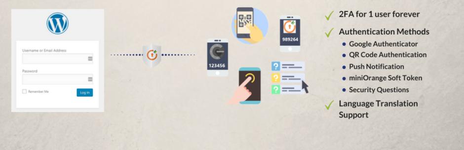 google wordpress authentication plugin adds two elements