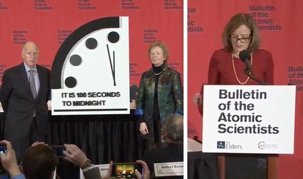 Doomsday Clock 2020: 100 seconds to midnight